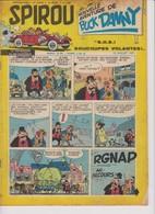 Spirou  N°1005 - 18 Juillet 1957 - Spirou Magazine