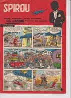 Spirou  N°1008 - 8 Aout 1957 - Spirou Magazine