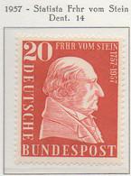 PIA - GERMANIA - 1957  : Bicentenario Della Nascita Dello Statista Barone Frhr Von Stein  -   (Yv 149) - Nuovi