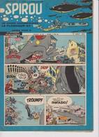 Spirou  N°1009 - 15 Aout 1957 - Spirou Magazine