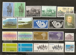 Irlande Ireland Collection Mint Europa And Other Topical Stamps With Complete Sets - Sellos