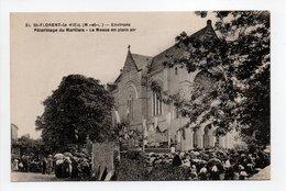 - CPA SAINT-FLORENT-LE-VIEIL (49) - Pèlerinage Du Marillais - La Messe En Plein Air - Edition F. Chapeau N° 51 - - Frankreich