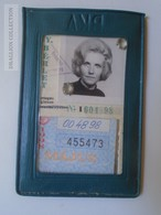 D164511 Hungary BKV Monthly Ticket 1998 -Budapest Bus HÉV Tram  Metro - Abonnements Hebdomadaires & Mensuels