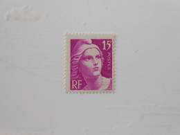 FRANCE YT 727a MARIANNE DE GANDON 15f Lilas-rose Pâle** - France