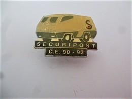 PINS SECURIPOST  CE 90.92 CAMION TRANSPORT DE FONDS / 33NAT - Mail Services