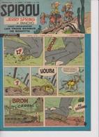 Spirou  N°1012 -5 Septembre 1957 - Spirou Magazine