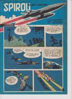 Spirou  N°1013 - 12 Septembre 1957 - Spirou Magazine