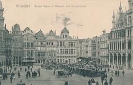 CPA - Belgique - Brussels - Bruxelles - Grand'Place - Squares