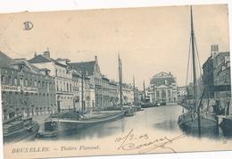 CPA - Belgique - Brussels - Bruxelles - Théâtre Flamand - Monuments, édifices