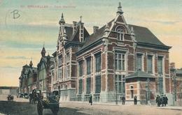 CPA - Belgique - Brussels - Bruxelles - Gare Maritime - Maritiem