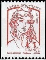 France Marianne De La Jeunesse Par Ciappa Et Kawena N° 5018.** Roulette  (rouge) Jusqu'à 20g - 2013-... Marianne De Ciappa-Kawena