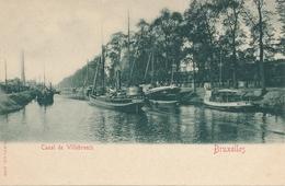 CPA - Belgique - Brussels - Bruxelles - Canal Willebroech - Maritiem