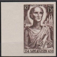 ALGERIE NON DENTELE   N° 318   SAINT  AUGUSTIN - Unused Stamps