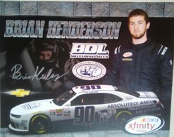 Brian Henderson Signed Hero Card - Authographs