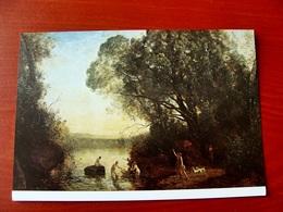 (FG.W40) Jean-Baptiste Camille COROT - LA COMPAGNIE DE DIANE (BORDEAUX, MUSEE DES BEAUX ARTS) NV - Pittura & Quadri