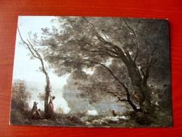 (FG.W40) Jean-Baptiste Camille COROT - SOUVENIR DE MORTEFONTAINE (PARIS, MUSEE DU LOUVRE) NV - Pittura & Quadri