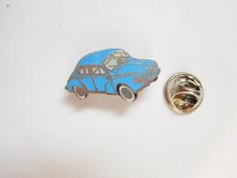 Beau Pin's En EGF , Auto Renault 4 CV , Signé Segalen Collection - Renault