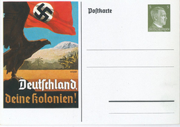 Ganzsache Deutschland Deine Kolonien - Germania
