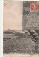 ***  35  ***  ST MALO  Fort National Vu Des Remparts -- Belle Vue Peu Courante - TTB - Saint Malo