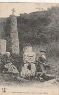 *** 29  *** TREOUERGAT  Fontaine De Saint Wergat - Timbrée TTBE - Autres Communes