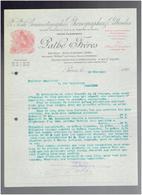 FACTURE 1899 PATHE FRERES CINEMATOGRAPHE PHOTOGRAPHIE PELLICULES 98 RUE RICHELIEU A PARIS - 1800 – 1899