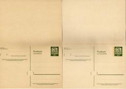 Germany DOUBLE Postcard Stamped Stationery Mint - Albrecht Dürer / Duerer - Postcards - Mint