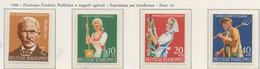PIA - GERMANIA - 1958 - Pro Beneficenza - (Yv 168-71) - Nuovi