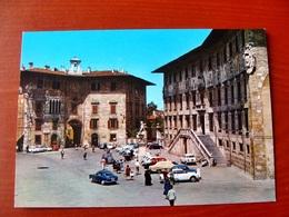(FG.W40) PISA - PIAZZA DEI CAVALIERI - SCUOLA NORMALE SUPERIORE Animata, Auto Cars Voitures (NV) - Pisa