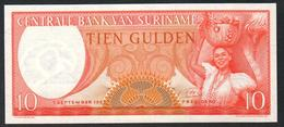 Surinam 10 Gulden 1963 UNC - Suriname