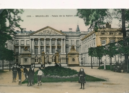 CPA - Belgique - Brussels - Bruxelles - Palais Des Nations - Monuments, édifices