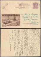 Publibel 962 - 90c Voyagé - Thématique Oostende-Dover  (DD) DC3685 - Publibels