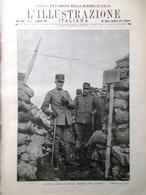 L'illustrazione Italiana 9 Gennaio 1916 WW1 Miraglia Salonicco Slataper Salvini - Guerra 1914-18