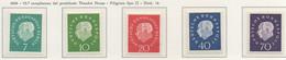 PIA - GERMANIA - 1959 - 75° Anniversario Del Presidente Theodor Heuss - (Yv 173-77) - Nuovi