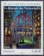 France N° 4533 ** Oeuvre De Jean Michel OTHONIEL - Le Kiosque Des Noctambules - Frankreich