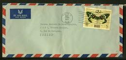 DUBAI - Enveloppe Pour La France En 1968 , Affranchissement Plaisant -  Réf J136 - Dubai