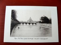 (FG.W41) ROMA - SAN PIETRO E CASTEL SANT'ANGELO (Disegno Di Antonio Carbonati) NV - Pittura & Quadri
