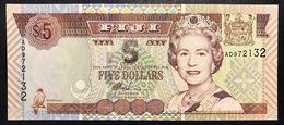 FIJI Figi 5 DOLLARI 2002 FDS Pick 97 Lotto 2486 - Fidji