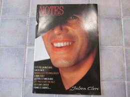 Notes N° 151 - 1997 Julien Clerc - Muziek