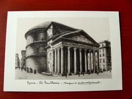 (FG.W41) ROMA - IL PANTHEON (Disegno Di Antonio Carbonati) NV - Pittura & Quadri