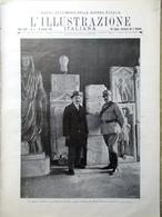 L'illustrazione Italiana 16 Gennaio 1916 WW1 Aquileia Dardanelli Isonzo Baccelli - Guerra 1914-18