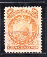 Sello Nº 12 Bolivia - Bolivia