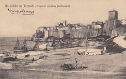 Molise - Campobasso - Termoli - Il Panorana Della Città Vecchia - Bella - Altre Città