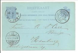 Bremen Haller Maschinen Stempel.18(KOPFSTEHEND!).9.97/ Haarlem>Amsterdam-Antwerpen>Bremen>Hamburg - Germany