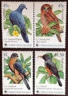 Christmas Island 2002 WWF Birds MNH - Vögel
