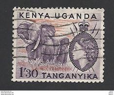 Uganda, 1955, Mi.-Nr. 101, Gestempelt - Kenya, Uganda & Tanganyika