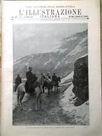 L'illustrazione Italiana 23 Gennaio 1916 WW1 Duilio Lucinico Occupazione Corfù - Guerra 1914-18
