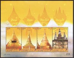 Thailand 2019, Vesak Day, Souvenir Sheet - Thailand