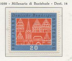PIA - GERMANIA - 1959  : Millenario Di Buxtehude   -   (Yv 185) - Nuovi