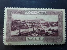 COCHINCHINE, Vignette Touristique BACLIEU ,  Lilas Btb - Cochinchine (1886-1887)