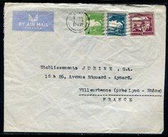 Palestine - Enveloppe Commerciale De Tel Aviv Pour La France En 1947 , Affranchissement Plaisant -  Réf J154 - Palästina